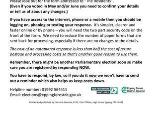 Information for electors - Electronic participation