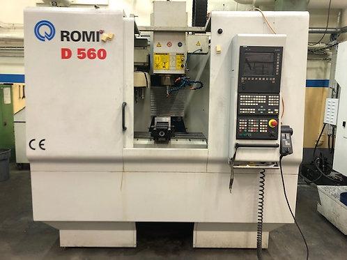 CNC Fräs - Romi D560