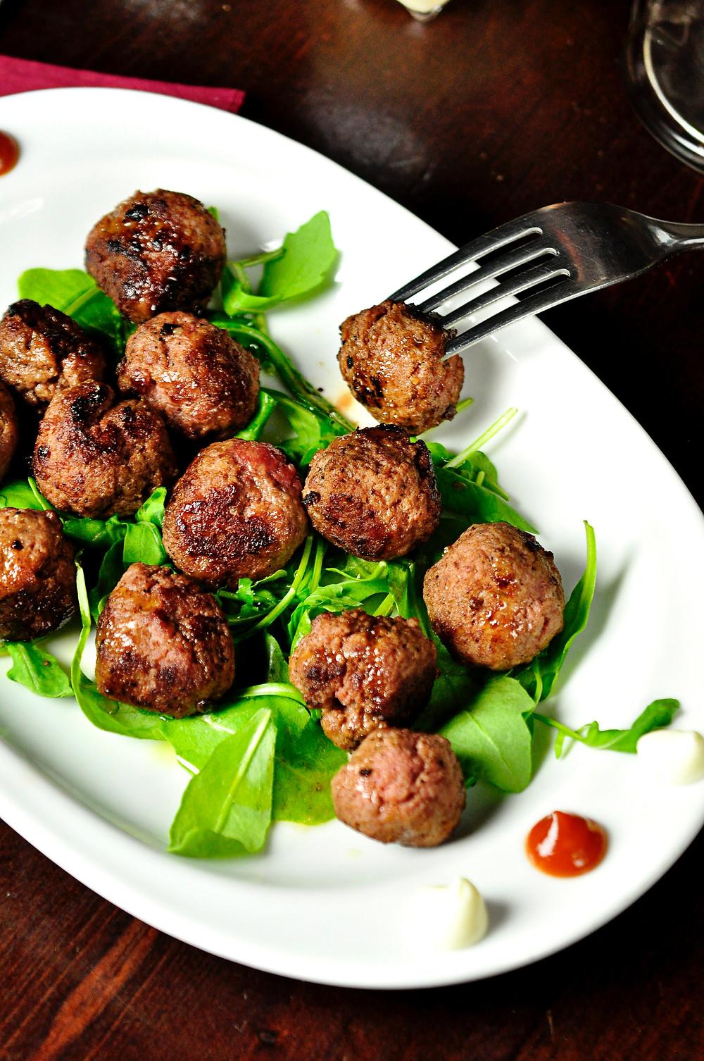 Amaranth Meatballs