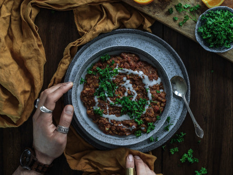 Slow Cooked Lentil Daal