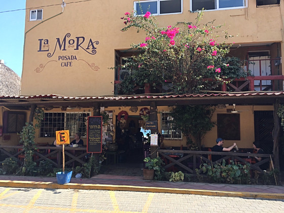 La Mora Cafe, San Agustinillo: Strong Coffee, Creative Food & Charming Service
