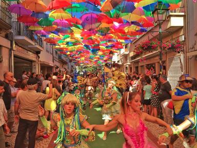 Agueda umbrella street