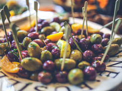 Home Marinated Olives
