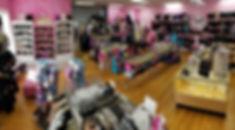 Panoramic picture of Linden's Dancewear interior