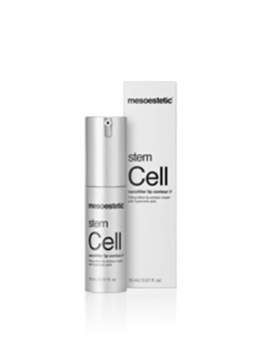 Stem Cell nanofiller lip contour