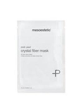 Post-peel 3D crystal fibre mask