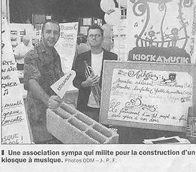 Joël Allemand, Bruno Bordignon, Michel Caillabet, au départ de l'association en 2002