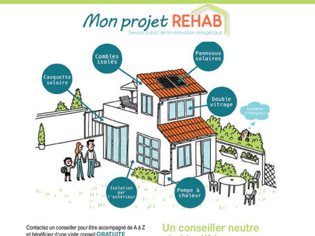 Le projet Rehab du pôle territorial