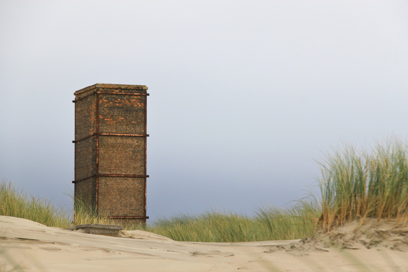 Dunes de Berck sur mer, côte d'Opale