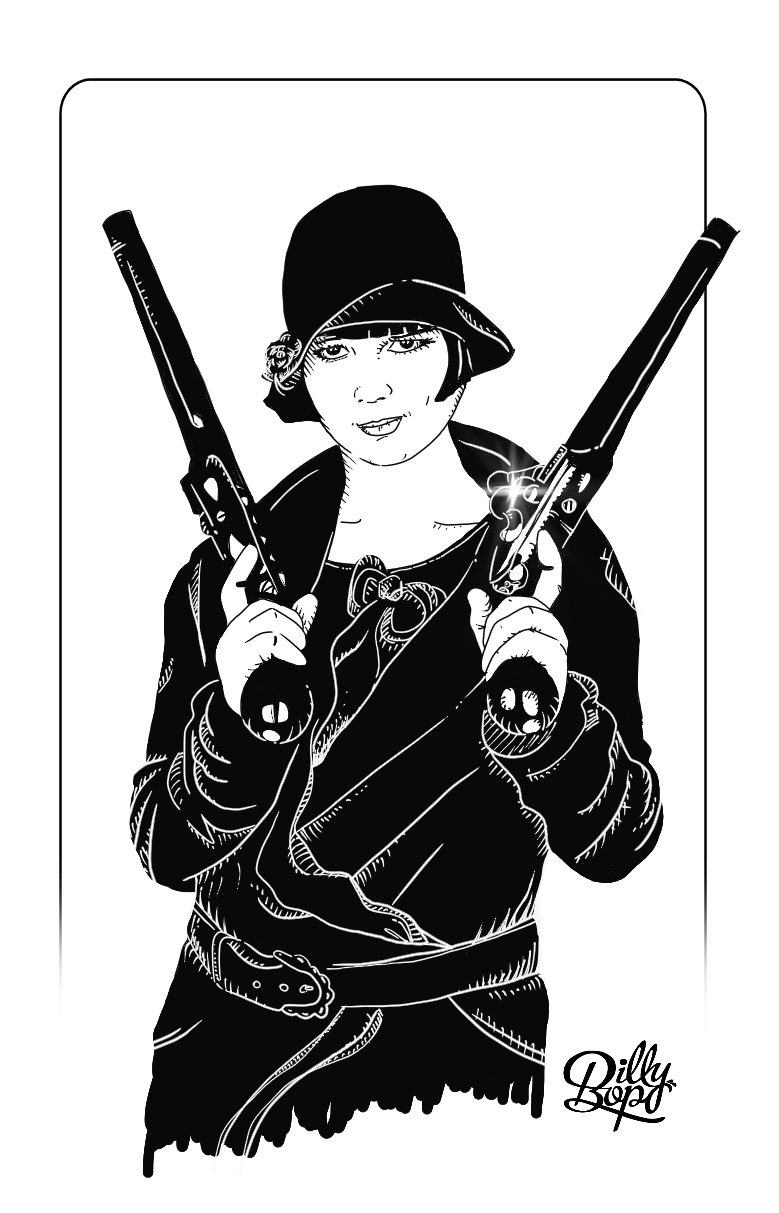 Louise Brooks Guns
