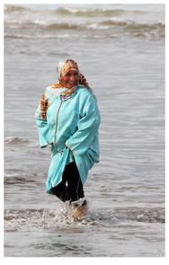Tchador woman
