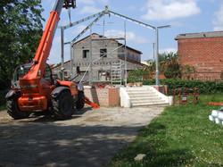 Kiosque cugnaux Construction