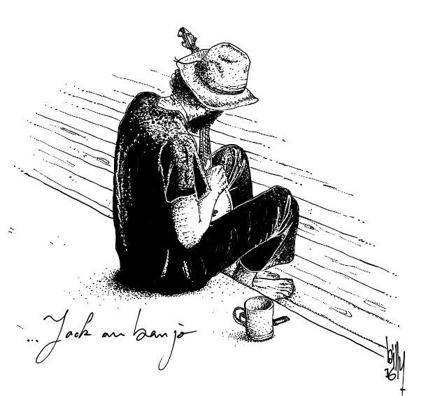 JACK AU BANJO