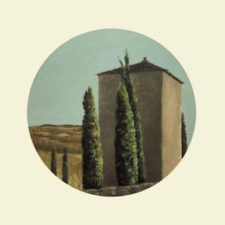 La Tour de Bournazel IV (2020, huile sur