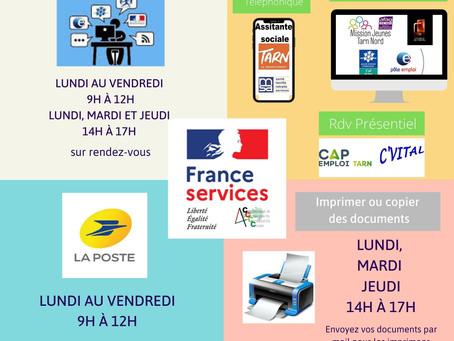 """L'Escale devient """"France Services"""""""