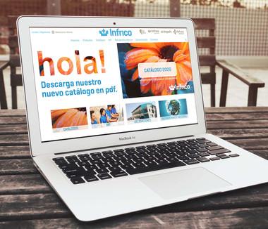 Diseño de banner para la web de INFRICO