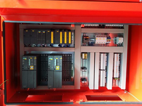 S.A. Fire Protection - Consolle per monitori antincendio