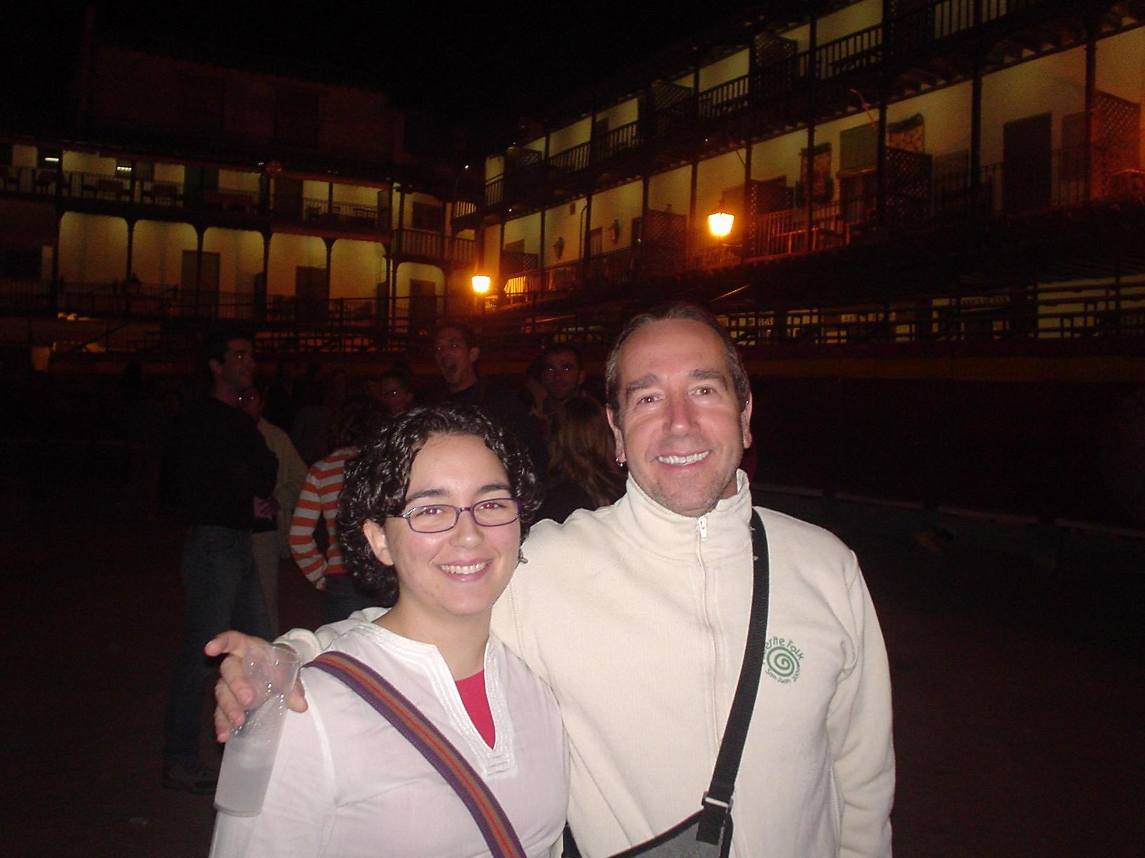 Con Eliseo Parra
