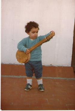Mis primeros pasos al banjo...