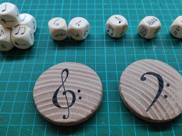 ABJ en Música: Componer con dados