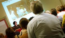 Conferencia en la Univ. P. Plasencia