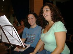 Con Carmen Solís
