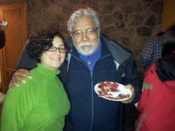 Con el maestro Guillermo Contreras