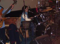 Percusión en Aulaga Folk