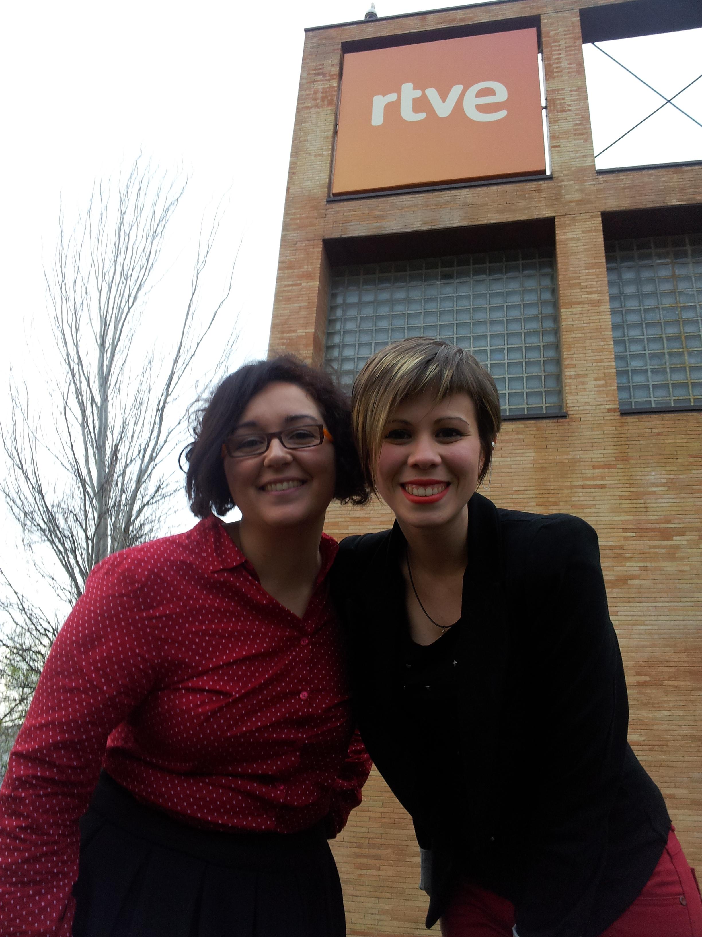 Con Marta Lozano Molano