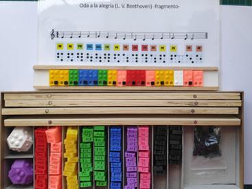 Proyecto 'Impresión tipográfica de musicografía Braille en 3D'.