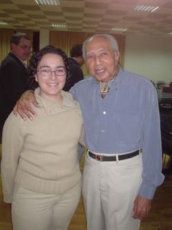 Con César Portillo de la Luz