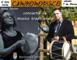 Concierto de música tradicional en Caminomorisco (#Hurdes #Extremadur