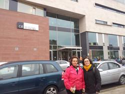 Con Pilar Barrios Manzano en Cork