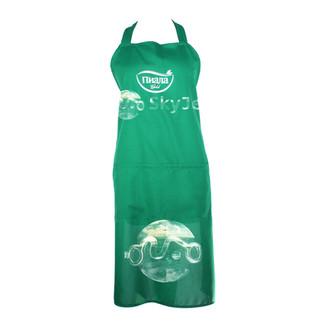 Фартук-платье зеленый