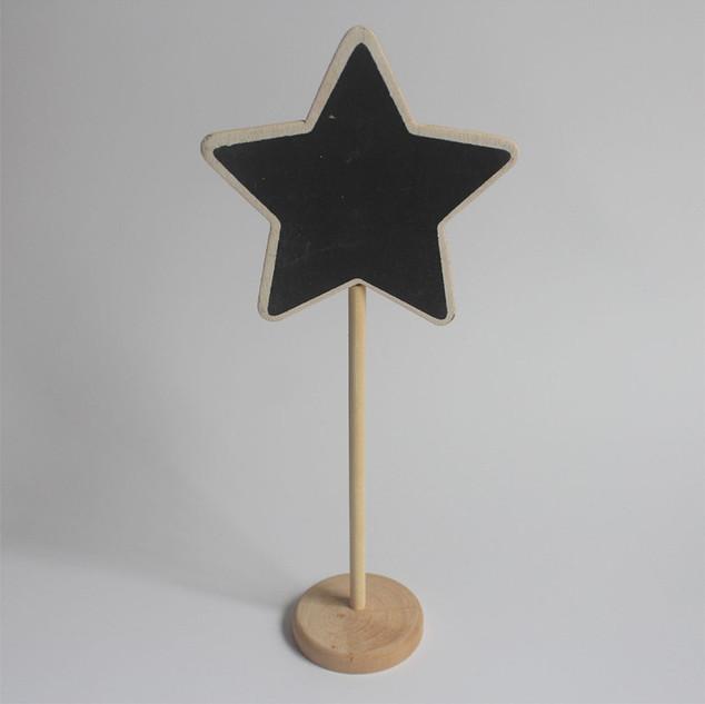 Укзатель в виде звезды