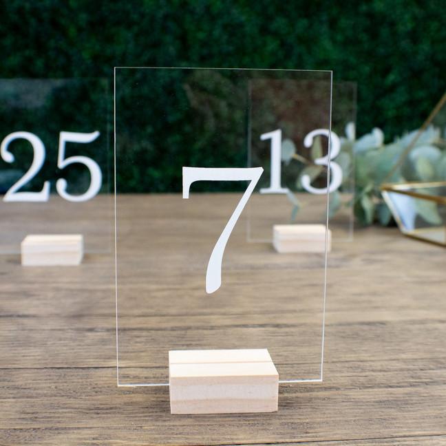 Номерки для столов