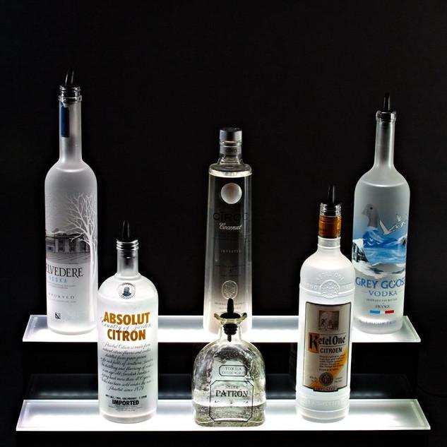 Акриловые стенды для спиртного