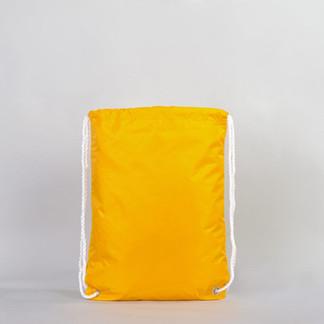 Сумка мешок желтая