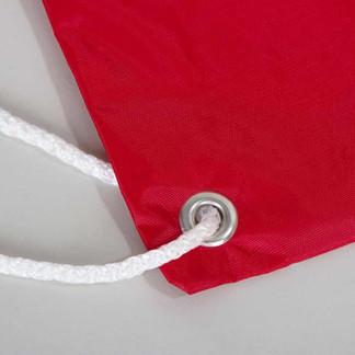 Сумка мешок красная