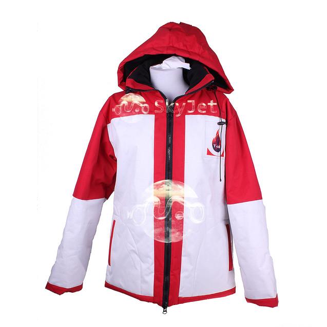 Утепленная куртка для персонала Автозаправки