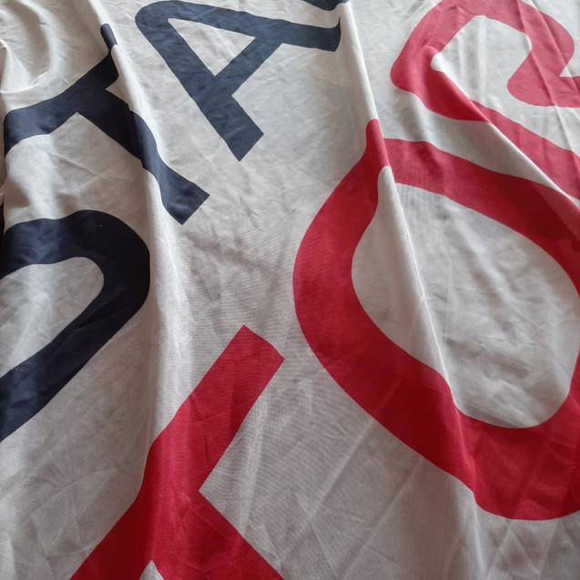 Флаг напечатанный