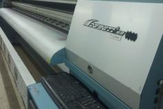 Станок для печати банеров