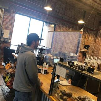 экраны для кофейни