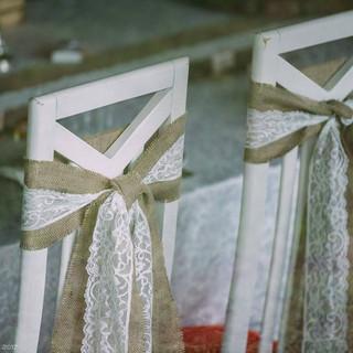Декор стульев для торжеств