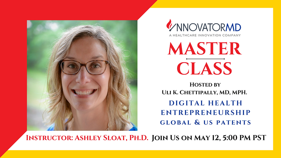Global & US Patents: Digital Health Entrepreneurship