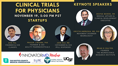 Clinical Trials For Physicians November