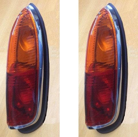 Fanali posteriori (2 pz) Ferrari california e Fiat 600 Vignale