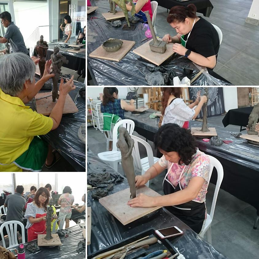 Clay Sculpting Class (2)