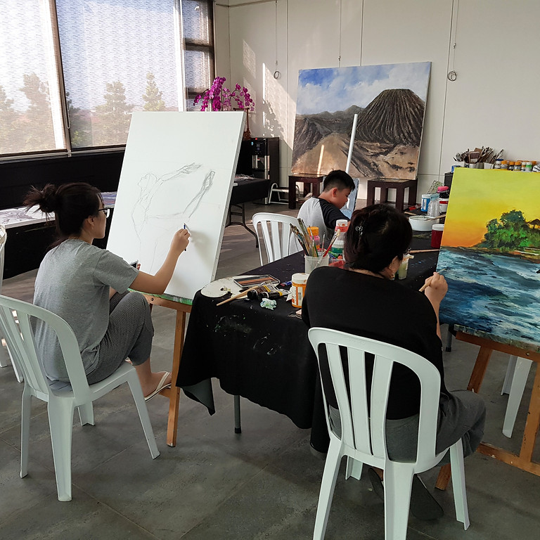 Learn to Paint on Canvas with Acrylic