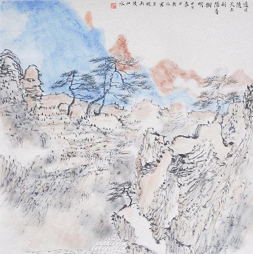 山水系列写生 Shanshui xilie xiesheng